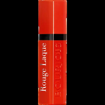 Rouge à lèvres rouge laque 004 selfpeach BOURJOIS, 6ml