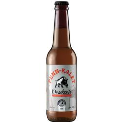 Bière L'Insolente, BRASSERIE LA TETE DURE, 75CL