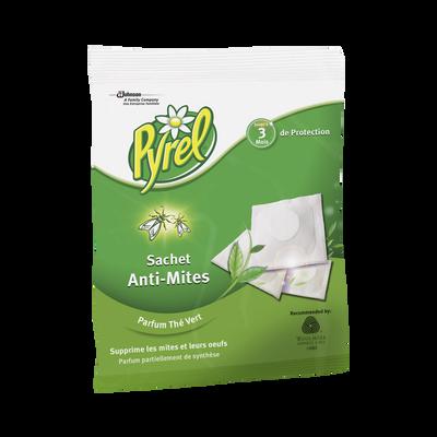 Anti-mites fraicheur thé vert PYREL, x24 sachets