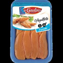 Aiguillette de poulet jaune, LE GAULOIS, France, Barquette, 210g