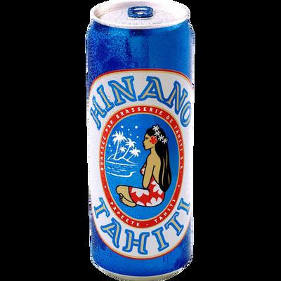 Bière blonde de Tahiti HINANO, 5°, bouteille de 50cl