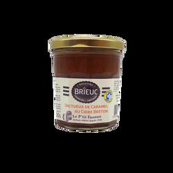 Onctueux de caramel au cidre Breton le petit fausset BRIEUC, 220g