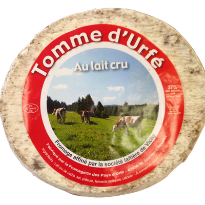 Tomme d'Urfe au lait cru 27%mg