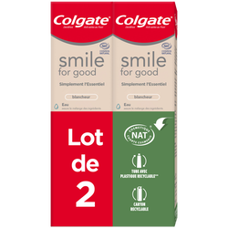 Dentifrice smile for good blancheur COLGATE 2x75ml