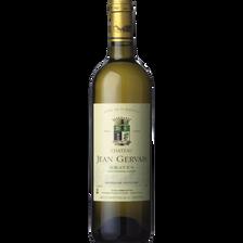 """Vin blanc AOP Graves """"Château Jean Gervais"""", 75cl"""