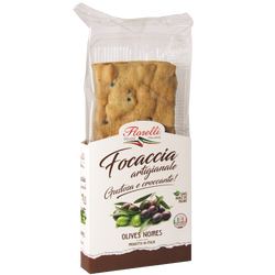 FLORELLI FOCCACIA aux olives 150g