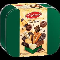 Assortiment de biscuits Tea Time DELACRE coffret de 1kg