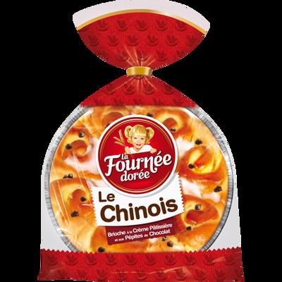 Chinois à la crème pâtissière et pépites chocolat LA FOURNEE DOREE, 500g