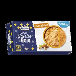 Mini galette des rois  frangipane PASQUIER, 2x100g