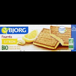 Fourrés citron Bio BJORG, 225g