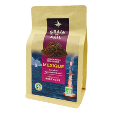 Café moulu bio du Mexique, 250g