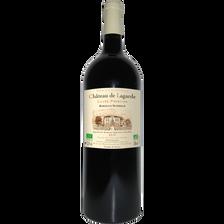 """Vin rouge AOP bio Bordeaux Supérieur """"CHATEAU DE LAGARDE"""" cuvée prestige, bouteille de 1,5 litre"""