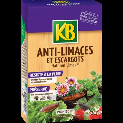Anti-limaces KB, 450g, prêt à l'emploi, granules résitent à la pluie