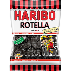 Rouleaux de réglisse Rotella HARIBO, 300g