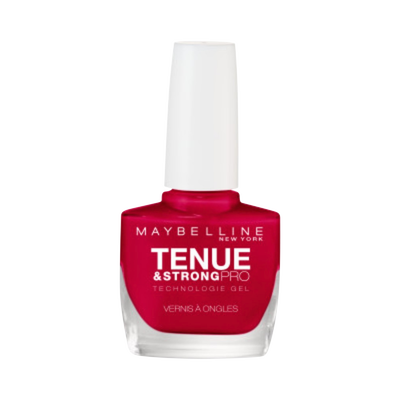 Vernis à ongles tenue & strong pro 08 passionate red MAYBELLINE, nu