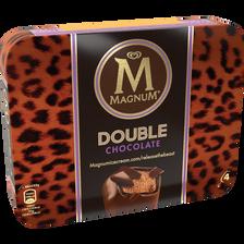 Magnum Double Chocolat, 4 Unités, 276g