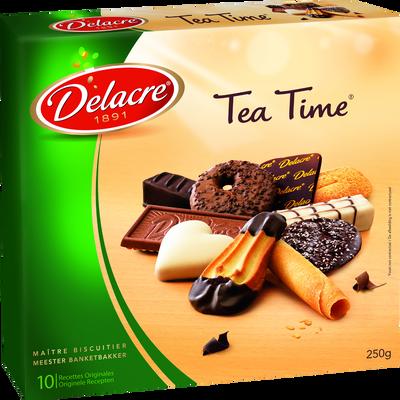 Assortiment de biscuits Tea Time DELACRE, 250g