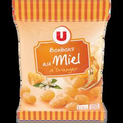 Bonbons au miel d'oranger U, sachet de 250g