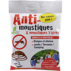 Spirales anti-moustiques, x10
