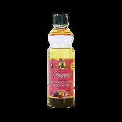 Sauce vinaigrette au balsamique miel et échalotes VINAIGRERIE GENERALE, bouteille de 36cl