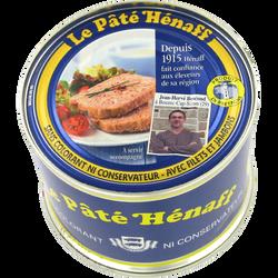 Pâté pur porc HENAFF, 260g