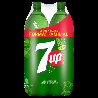 SEVEN UP pet 4x1,5 litre Format Familial