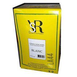 Vin Blanc Pollestres, IGP Côtes Catalanes Bib de 5L - LES VIGNERONS DU SUD