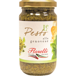 Pesto allo genovese pasta & bruschetta FLORELLI 190g