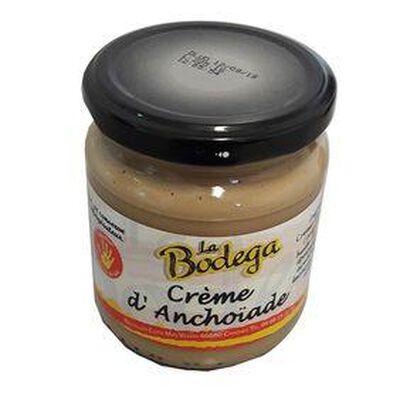 Crème d'anchoïade, Bocal de 190G LA BODEGA