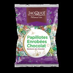 Papillotes enrobées chocolat JACQUOT, coussin 940g