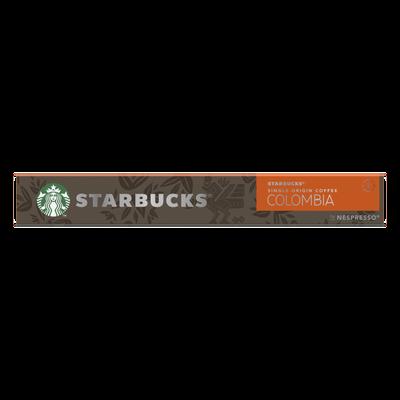 STARBUCKS by nespresso colombia; x10 capsules; 57g