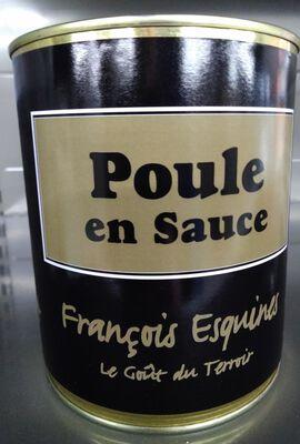 poularde aux olives (poule,chapignons, olives de pays, vin blanc...) 840 gr