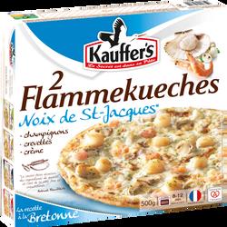 Tarte flambée aux noix de Saint Jacques KAUFFERS, 2x250g