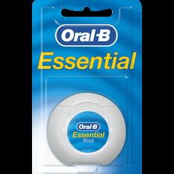 Fil dentaire essential floss menthe ORAL B, 25m