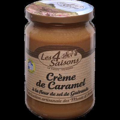 Crème de caramel à la fleur de sel de Guérande LES 4 SAISONS, 360g