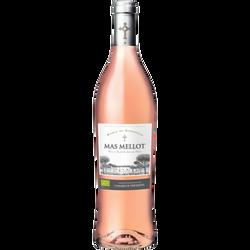 Vin rosé IGP Sable Mas Mellot agriculture bio, 75cl