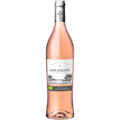 Vin rosé IGP Sable Mas Mellot agriculture biologique, 75cl