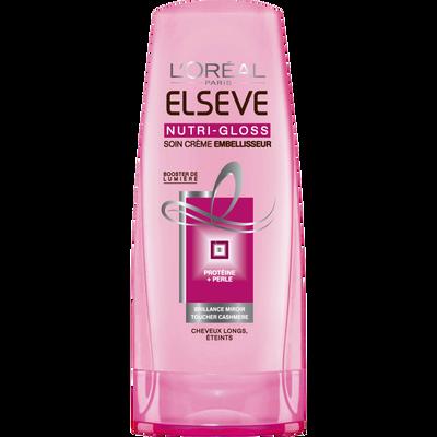 Après-shampoing Nutri Gloss ELSEVE, flacon de 200ml
