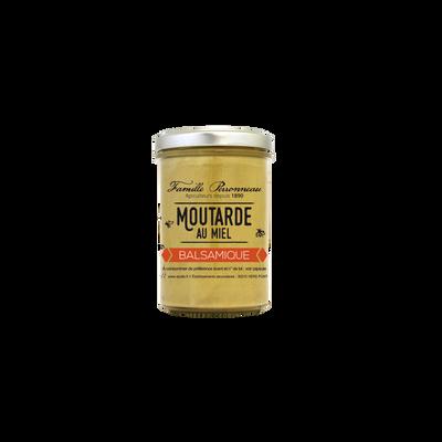Moutarde au vinaigre balsamique et miel FAMILLE PERRONNEAU, 210g
