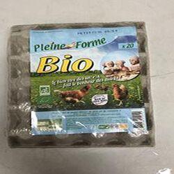 20 oeufs bion de poules élevées en plein air catégorie A x20