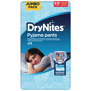 Huggies Culottes Drynites 8-15 Boys Disney 27-57kg Huggies, X13