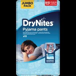 Culottes drynites 8-15 boys disney 27-57kg HUGGIES, x13