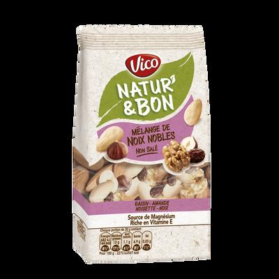 Natur'& bon noix de cajou naturelles non salées VICO, sachet de 200g