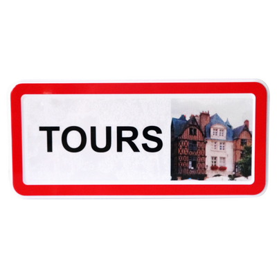 Sablé nature plaque de ville Tours BISCUITERIE LA SABLESIENNE, boîte 230g