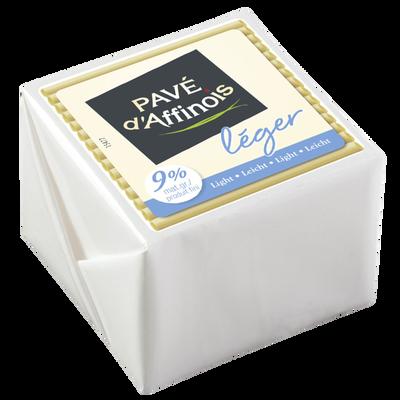 Fromage au lait pasteurisé Léger d'Affinois, 9%MG, 150g