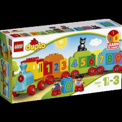 Le train des chiffres LEGO DUPLO