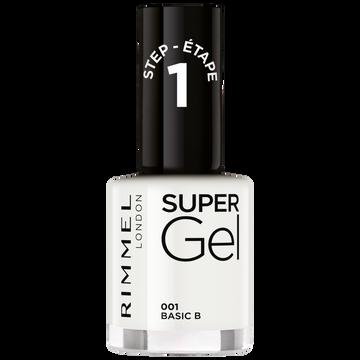 Rimmel Vernis À Ongles Super Gel Pure White 001 Rimmel, 12ml