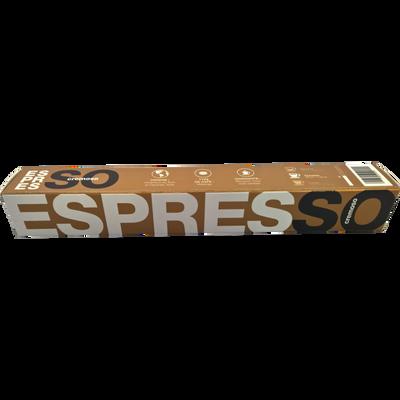 Café Cremoso BIO ESPRESSO, 10 capsules soit 50g