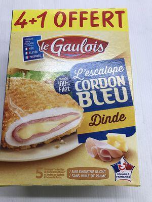 CORDON BLEU DE DINDE 4+1GRT