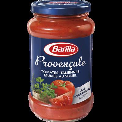 Sauce tomate provençale BARILLA, pot de 400g